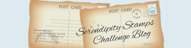 Serendipity Stamps Challenge Blog